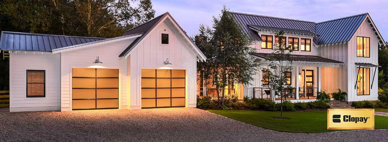 CloPay Aluminum Garage Door